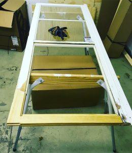 Renovering av altandörr