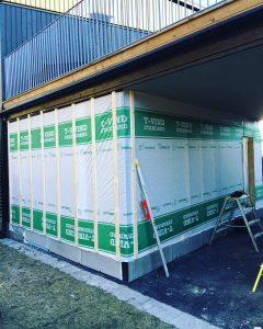 Tillbyggnad under carport
